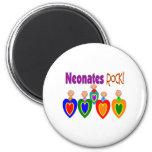 "Neontal Nurse Gifts ""Neonates ROCK!"" Fridge Magnet"