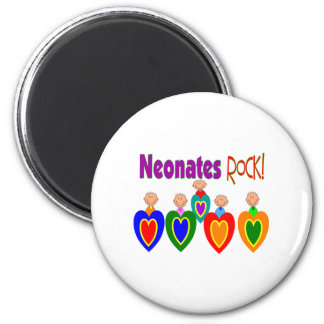 "Neontal Nurse Gifts ""Neonates ROCK!"" Magnet"