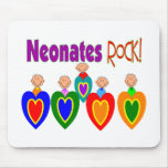 "Neontal Nurse Gifts ""Neonates ROCK!"" Mouse Pad"