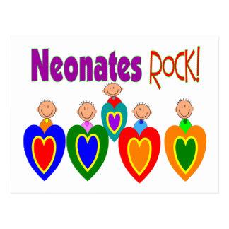 "Neontal Nurse Gifts ""Neonates ROCK!"" Postcard"