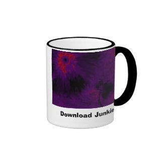 neonthreadflaredk, Download Junkie Ringer Coffee Mug