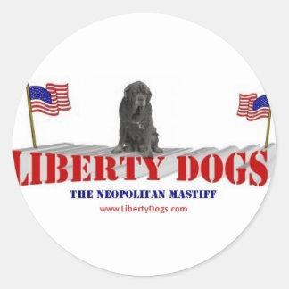 Neopolitan Mastiff Classic Round Sticker