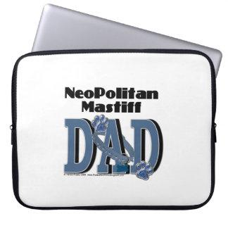 Neopolitan Mastiff DAD Laptop Computer Sleeves