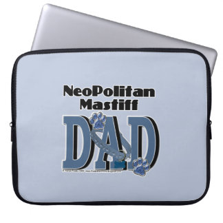 Neopolitan Mastiff DAD Laptop Sleeve