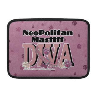 Neopolitan Mastiff DIVA MacBook Air Sleeves