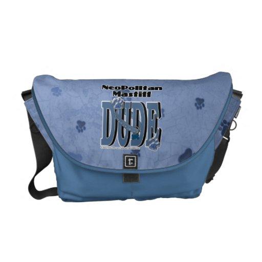 Neopolitan Mastiff DUDE Courier Bags