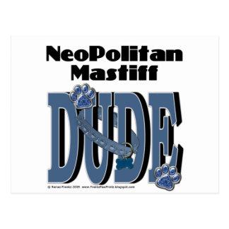 Neopolitan Mastiff DUDE Postcard
