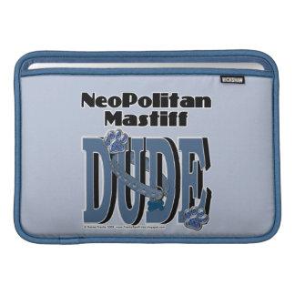 Neopolitan Mastiff DUDE Sleeve For MacBook Air
