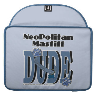Neopolitan Mastiff DUDE Sleeve For MacBooks
