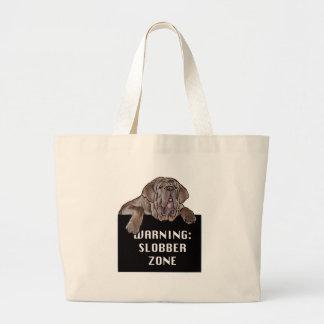 Neopolitan Mastiff Jumbo Tote Bag