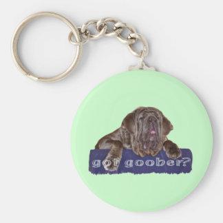 Neopolitan Mastiff Keychain