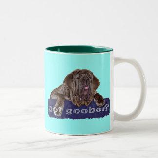 Neopolitan Mastiff Two-Tone Coffee Mug