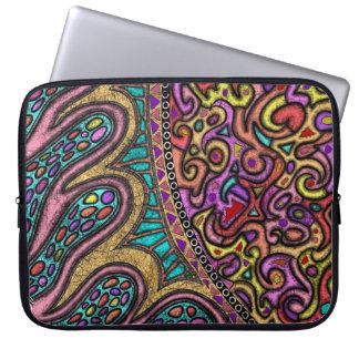 "Neoprene ipad mini sleeve ""encroaching warmth"" laptop sleeves"