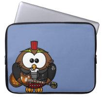 """Neoprene Laptop Sleeve 15"""" """"Punk Owl """""""