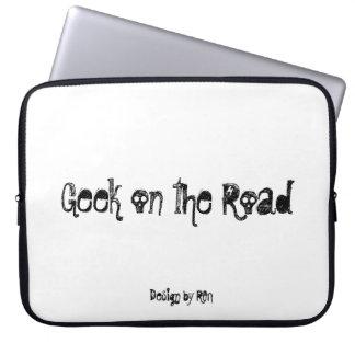 "Neoprene small pocket for laptop ""Geek"" by REN Laptop Sleeves"