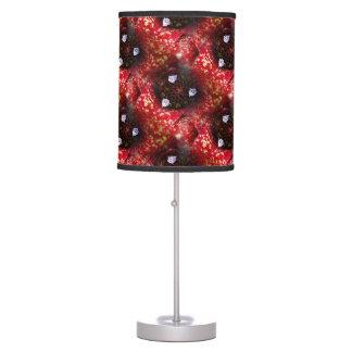 Neoregelia Aztec Bromeliad Plant Table Lamp