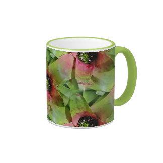 Neoregelia Bromeliad 'Tossed Salad' Coffee Mug