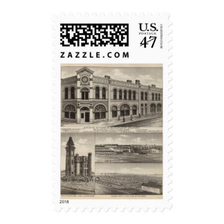 Neosho Investment County, Kansas Postage