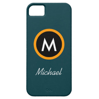 Neoteric Monogram Name template iPhone SE/5/5s Case