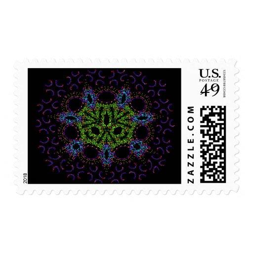 Neotribal Extropian Stamps