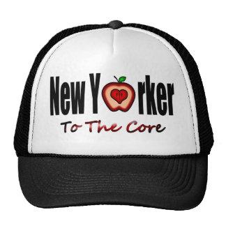 Neoyorquino a la base con Apple grande cortado Gorro