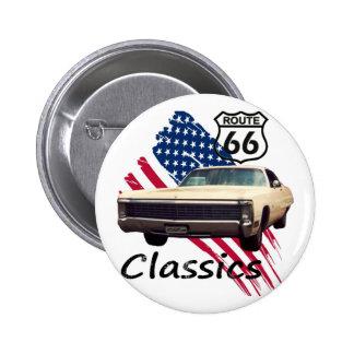 Neoyorquino Classics Pin Redondo De 2 Pulgadas