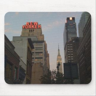 Neoyorquino Empire State Alfombrillas De Ratones