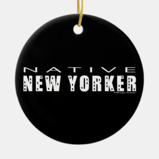 Neoyorquino nativo ornamentos de reyes