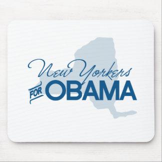 Neoyorquinos para Obama png Tapetes De Raton