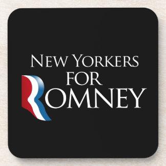Neoyorquinos para Romney - .png Posavasos