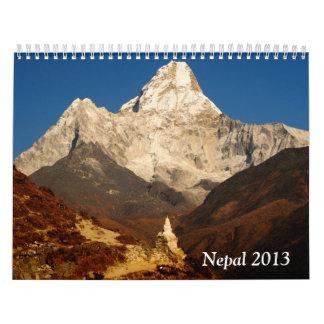 Nepal 2013 wall calendars
