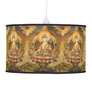 NEPAL ART TABLE LAMP