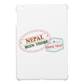 Nepal Been There Done That Cover For The iPad Mini