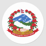 Nepal Coat Of Arms Sticker