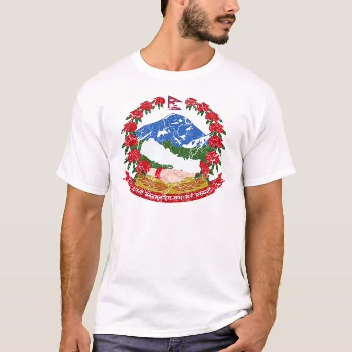 Nepal Coat Of Arms T-Shirt