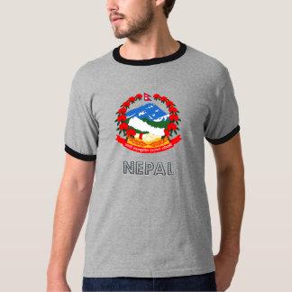 Nepal Coat of Arms T Shirt