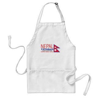 Nepal Earthquake Survivor Support Adult Apron