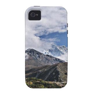 Nepal el monte Everest: Glaciares, lagos, visión Case-Mate iPhone 4 Fundas