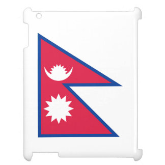 Nepal Flag Case For The iPad