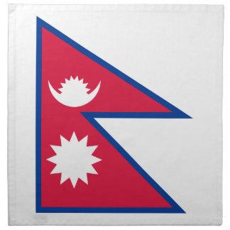 Nepal Flag Cloth Napkin