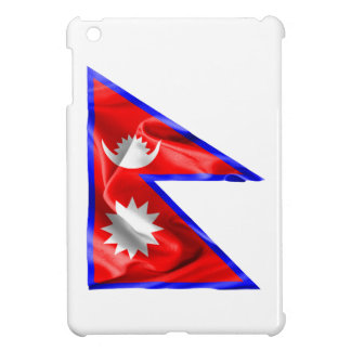 Nepal Flag Cover For The iPad Mini