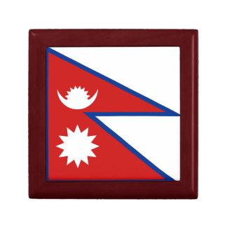 Nepal Flag Gift Box