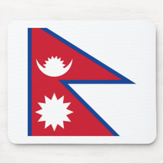 Nepal FLAG International Mouse Pad