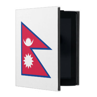 Nepal Flag iPad Cover