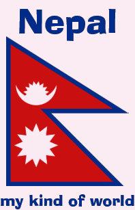 Nepal Flag Map Gifts on Zazzle