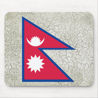 Nepal Flag Mouse Pad
