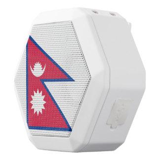 Nepal Flag White Bluetooth Speaker