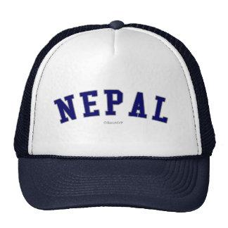 Nepal Gorros Bordados
