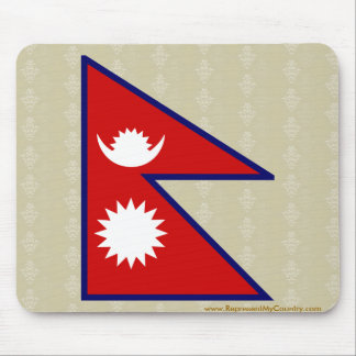 Nepal High quality Flag Mousepad