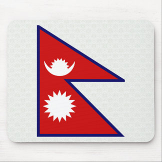 Nepal High quality Flag Mouse Pads